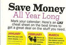 Savin Money / Budget Ideas