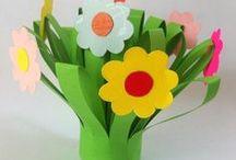 Paper blomster