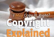 All About Copyrights / Articles about copyrights and copyright infringements