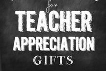 PP Teacher Appreciation / Teacher appreciation should be year around!!  Show your appreciation with these ideas.