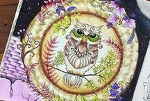 Floresta Encantada - Coruja / Enchanted Forest - Owl