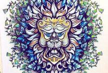 Floresta Encantada - Leão / Enchanted Forest - Lion