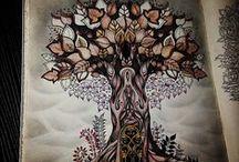 Floresta Encantada - Árvore / Enchanted Forest - Tree