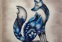 Floresta Encantada - Raposa / Enchanted Forest - Fox