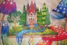Floresta Encantada - Castelo no Cogumelo / Enchanted Forest - Mushroom Castle
