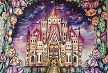 Floresta Encantada - Castelo / Enchanted Forest - Castle Leaves