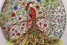 Jardim Secreto - Pavão / Secret Garden - Peacock