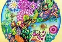 Floresta Encantada - Mandala Cogumelo / Enchanted Forest - Mandala Mushroom