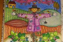 Jardim Secreto - Espantalho / Secret Garden - Scarecrow