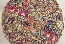 Floresta Encantada - Mandala Corujas / Enchanted Forest - Mandala Owl