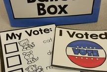 Election Day in Preschool / Election day ideas, crafts, printables and activities for preschool and kindergarten.