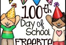 One Hundred Days of School / Early childhood ideas and activities to celebrate 100 days of school.