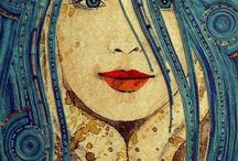 art / by Dina Cohen Stover
