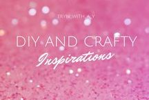 diy and crafty inspirations / A collection of the crafty inspirations that I find on Pinterest and around the web, then store away for that day when I need them!