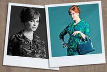 Joanie and the cast of Mad Men
