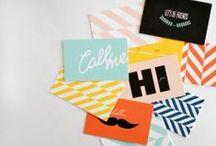 05. diseño: tarjetas de visita / by Carmen Milowcostblog