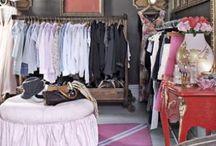 Dressing room  / by Lou Harvey