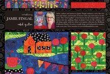 Fabric Artist-Jamie Fingal