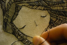 Thread & Fabric / Sewing, knitting, crocheting, design with fiber. / by Ingrid Terpening