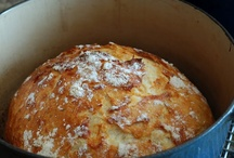 Let's Share Bread Recipes! / Ahhhh, home made bread, freshly baked. There is nothing quite so satisfying as the smell of bread wafting through a home, or the taste of a still warm loaf of bread with butter melting into it. Join me and post some of your favorite bread recipes (pins MUST include a recipe for making bread) from around the world! Off topic pins will be deleted. If you would like to be added as a contributor to this board, please leave me a comment. Thanks! / by Sharon Horning