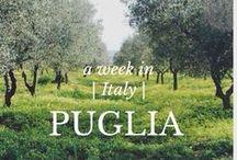 Puglia / Basilicata / Calabria / by Kim O @HTLTW