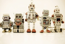 RETRO/FUNKY ROBOTS / by Kerry Ford