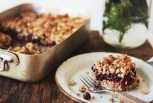 Baked goodies. Mmm / by Tamarah Webb