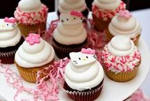 Hello Kitty Party / Girl birthday party theme with hello kitty.  Welcome to the world of adorable and pink! / by Ingrid Terpening