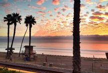 California Sunsets / Beautiful California Sunsets. Mostly taken at or near a California beach or beach town (with an emphasis on San Clemente, CA - truth be told, like, 97% of the sunset pictures will be from San Clemente).  / by Casa Tropicana