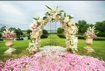 Fresh Florals / Take a look at our wedding floral designs.  It isn't as well know that we're one of the top Charleston florists as well as an event planner.