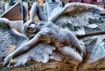 STAGLIENO CEMETERY ITALY / The monumental Cemetery of Staglieno IS set in one of the eastern district of Genoa. Designed in the early nineteenth century by one of The Most Appreciated city's architects, Carlo Barabino, it features marble Hundreds of Striking sculptures