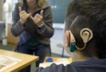 """Hearing Technology / Cochlear implants, hearing aids, FM systems. Pins by Velvet Buehler, """"Perspectives"""" Editor for ASHA's Special Interest Group (SIG) 9, Hearing and Hearing Disorders in Childhood. Pins, repins, and likes do not imply endorsement."""