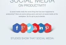 Social Media Infographics / A collection of infographics about Facebook, Twitter, Google+, LinkedIn, Instagram, Snapchat and all things social media.
