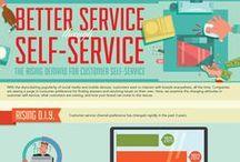 Commerce | Customer-focus | Sales infographics / Best infographics on sales, commerce, customers related topics. / by Piktochart
