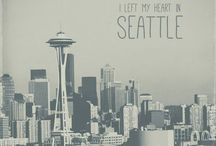 Seattle, my love! / by Abby Hardy