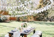 Garden Party / What's better than a party in a garden: a garden party. Think plants, celebrations, green, palettes of riotous color and wonder!