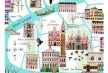 05. diseño: mapas / by Carmen Milowcostblog