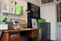 Craft room/study ideas