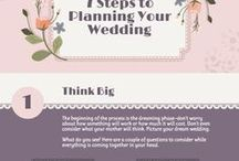 Wedding | Dating Infographics / A collection of infographics about wedding and dating.