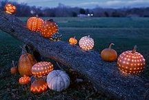 Halloween and Thanksgiving. Happy Harvesting!
