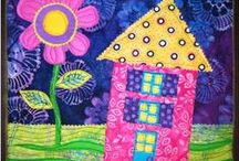 Spring Into Summer! / Colorful inspiration, sewing/craft projects, and  creative ideas to carry you from Spring to Summer.