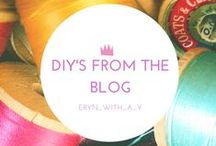 diy's and crafts / Check out my DIY and crafty projects! I cover everything from fashion, to homewares, jewellery, garden DIY's and more! Each tutorial is set out clearly, with the materials, cost and time at the beginning and each step outlined with photos and amusing words!