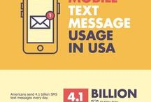 Mobile Marketing Infographics / A collection of infographics about mobile marketing.