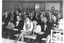 ASHA Through the Years / The American Speech-Language-Hearing Association has decades of interesting twists and turns. Here are some of the notable events, innovations, and members.  / by American Speech-Language-Hearing Association (ASHA)