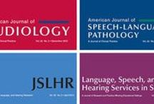 ASHA Journals / Research studies featured in ASHA's academic journals.