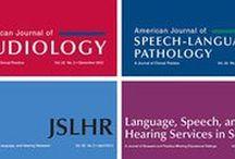 ASHA Journals / Research studies featured in ASHA's academic journals.  / by American Speech-Language-Hearing Association (ASHA)