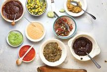 Sauces/Dips/Dressings/Spreads/Salsa/Frosting/Glazes!!!!!  / by Jamiila Zimolong