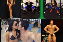 Fit couples / Love of Fitness together