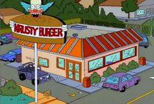 Burgers in media
