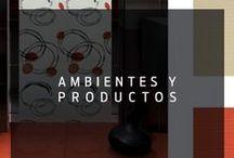 Ambientes y Productos / Todos los productos CESANTONI podrán darle ese toque de elegancia y distinción a cada espacio de tu hogar.